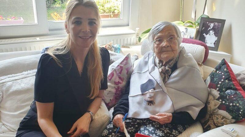 'Yüzyılın Cumhuriyet Kadını' Bursa'dan! 108 yaşında büyük onur…