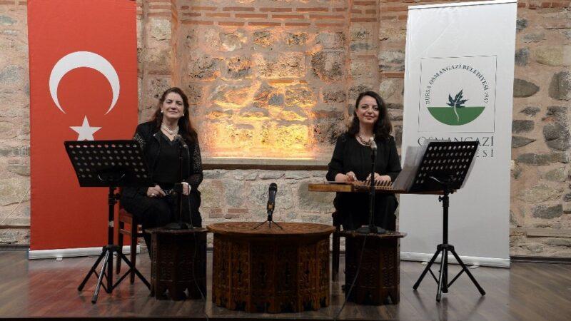 Kadın bestekarlar Osmangazi'de anlatılıyor