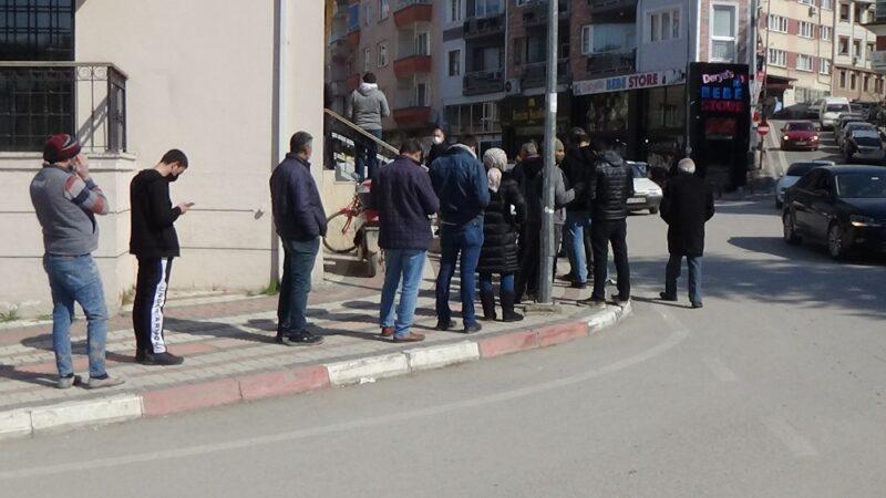 Görüntüler Bursa'dan! Korkutan kalabalık