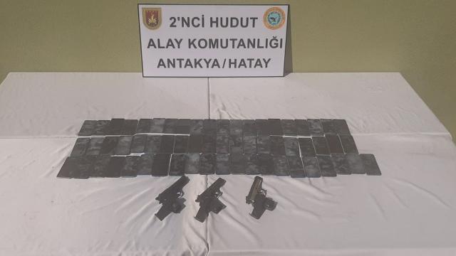 Hudut kartalları kaçakçılara geçit vermiyor