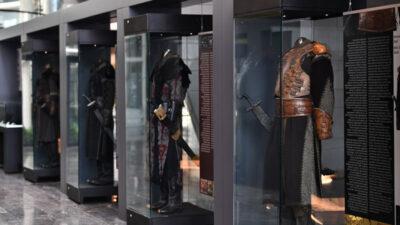 Türk Kıyafetleri Sergisine büyük ilgi