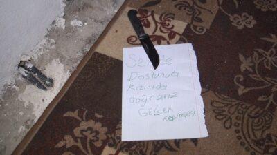 Bursa'da korkunç tehdit! 'Seni de kızını da doğrarız'