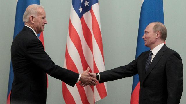 Putin'den Biden'a: 'Ona sağlıklar dilerim'