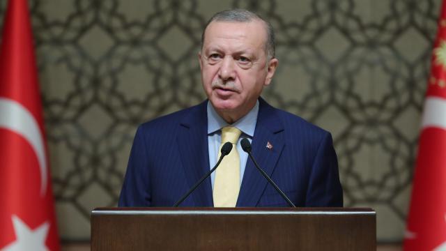 Cumhurbaşkanı Erdoğan'dan Maşalyan'a mesaj…