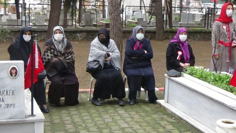 Bursa'da şehit anneleri gözyaşlarına boğuldu