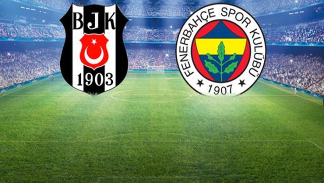 Beşiktaş – Fenerbahçe derbisinde sahaya çıkacak 11'ler belli oldu