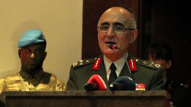 Helikopter kazasında 8. Kolordu Komutanı Korgeneral Osman Erbaş da şehit oldu