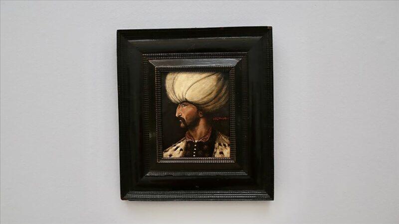 Kanuni Sultan Süleyman'ın portresi 5 milyon TL'ye satıldı