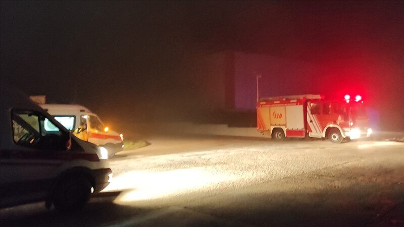 Fabrikada yangın faciası: 2 ölü