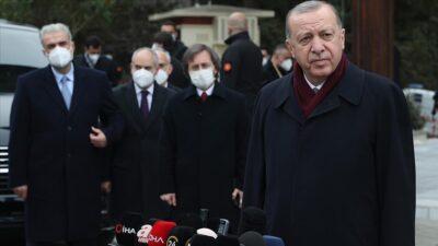 Cumhurbaşkanı Erdoğan'dan Biden'ın sözleriyle ilgili açıklama