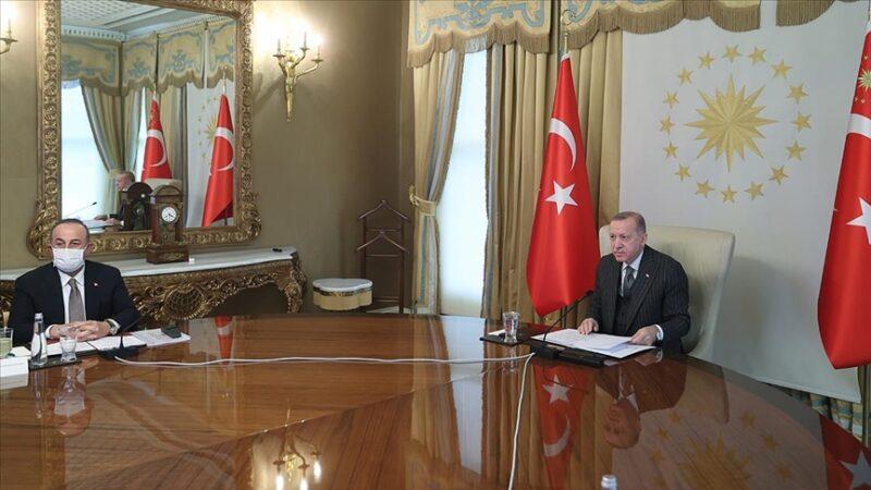 Cumhurbaşkanı Erdoğan AB yönetimiyle görüştü