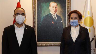 Meral Akşener, HÜDA PAR Genel Başkanı ile görüştü