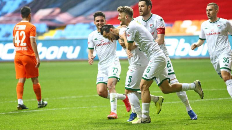 Bursaspor'da sevindiren gelişme!