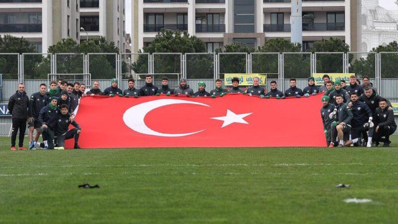 Bursaspor'dan anlamlı paylaşım…