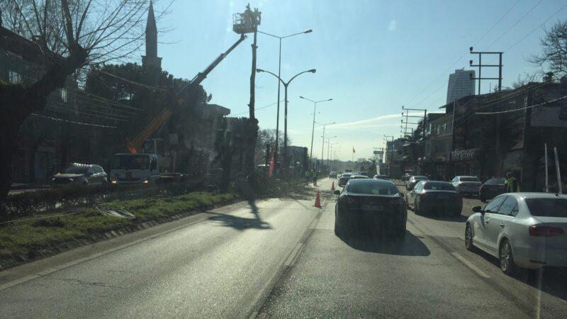 Bursa'nın kritik yolunda trafik neden durdu?