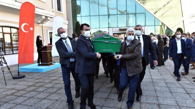 Erhan Keleşoğlu'na son görev…