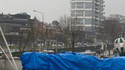 Bursa'da yağmur aniden bastırdı!