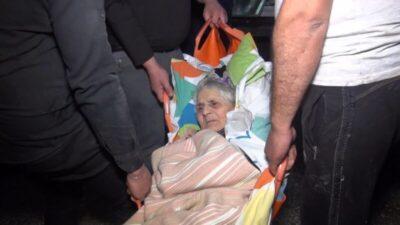 Bursa'da can pazarı…86 yaşındaki felçli kadın son anda kurtarıldı