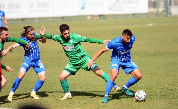 3.Lig'deki Bursa ekibi büyük fırsat kaçırdı!