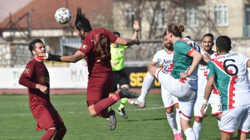 2.Lig'deki Bursa ekibinden riskli skor! Küme düşmemesi için…