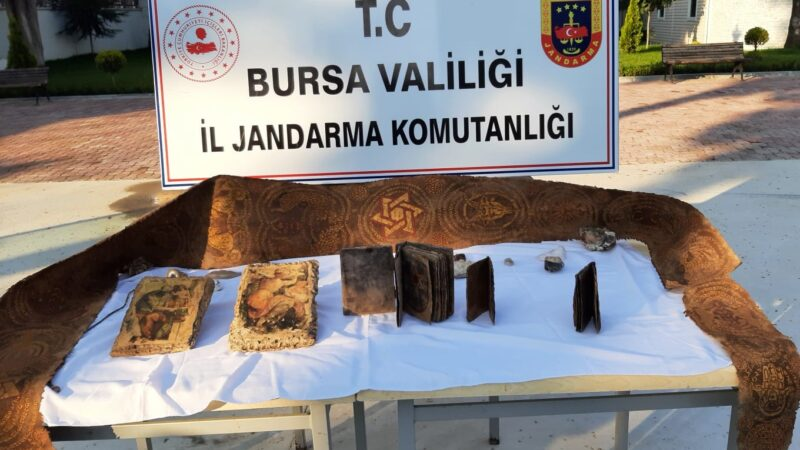 Bursa'da ele geçirildi! Tam 2 bin yıllık…