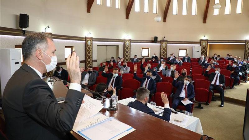 İnegöl'de nisan ayı Meclis Toplantısı yapıldı