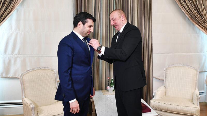 Aliyev'den Selçuk Bayraktar'a Karabağ Nişanı