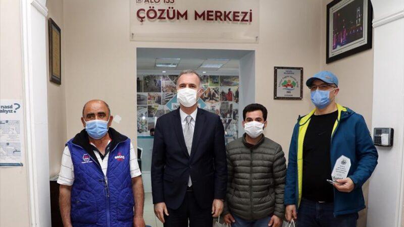 Çözüm merkezine en fazla bildirimde bulunan vatandaşlar ödüllendirildi