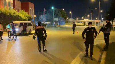 İnegöl'de 'kısıtlama' uygulaması: 25 kişiye 61 bin TL ceza