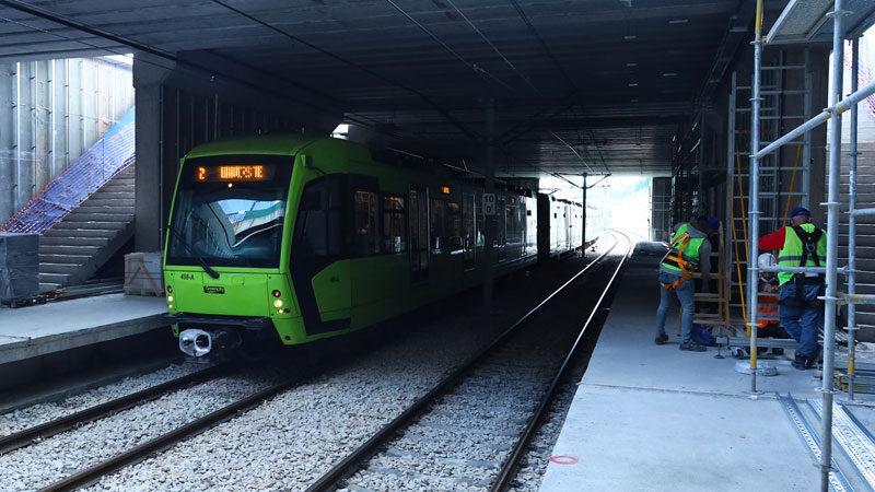 Yeni istasyonun yüzde 85'i bitti