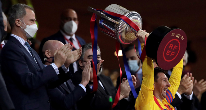 Barcelona, Kral Kupası'nın sahibi oldu