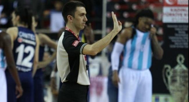 FIBA'dan Türk hakem Kerem Baki'ye görev