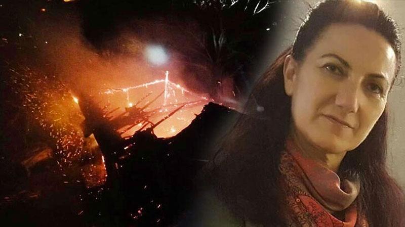 Babasını yanan evde sandı, kalp krizinden öldü