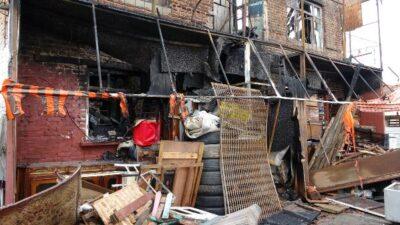 Bursa'da dün gece yanmıştı! Esnaftan 'kundaklandı' iddiası