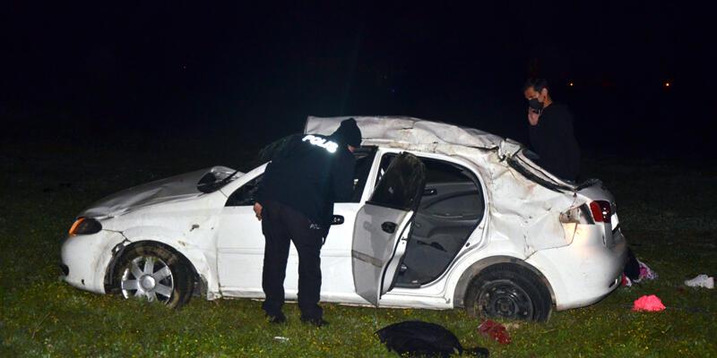 Korkunç kaza! 1 ölü, 4 yaralı