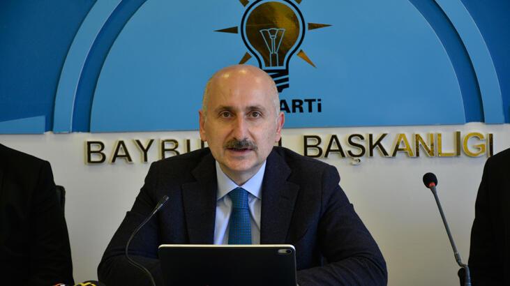 Bakan Karaismailoğlu, AK Parti Bayburt İl Başkanlığında konuştu
