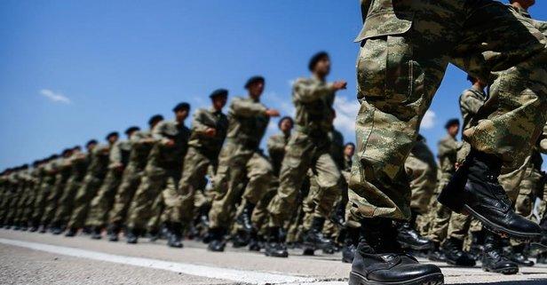 Askere gidecekler dikkat! Tarihler açılandı