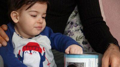 Bursa'da vicdansızlığın böylesi! SMA hastası Ali Osman'ın yardım kumbarası çalındı
