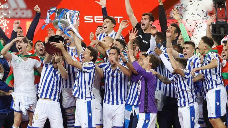 Kral Kupası'nın ertelenen 2020 finalini Real Sociedad kazandı