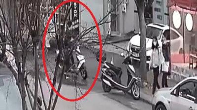 Bursa'da kaşla göz arasında hırsızlık