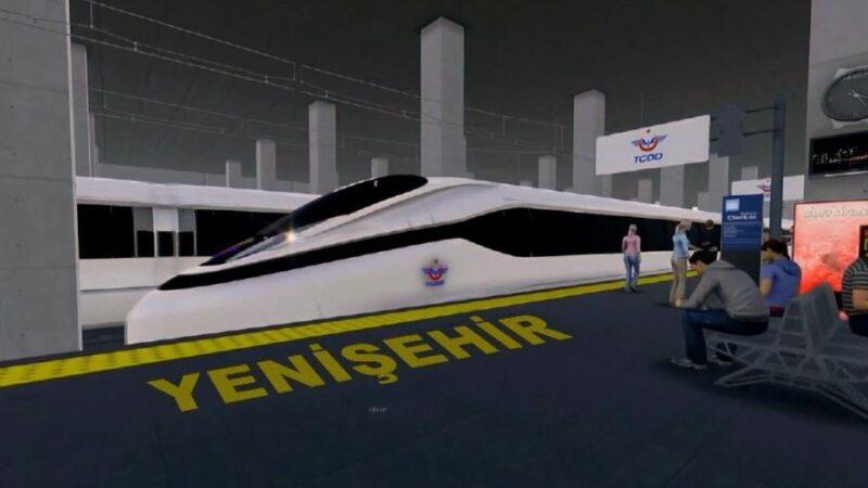 Yenişehir hızlı treninde yeni gelişme! Saatte 200 kilometre hıza çıkacak