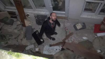 Bursa'da ilginç anlar! Polisten kaçmak isterken…