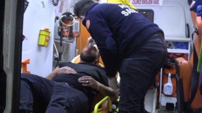 Bursa'da feci olay! Sokak ortasında dakikalarca dövdüler