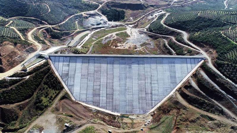 Bursa'nın yeni barajında sona gelindi