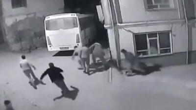 Görüntüler Bursa'dan! Jandarmayı görünce böyle kaçtılar
