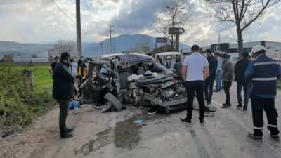 Bursa'da korkunç kaza! Yaralılar var…