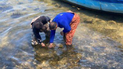 Balıkçılar buldu! İznik Gölü'nden 'tarih' çıktı