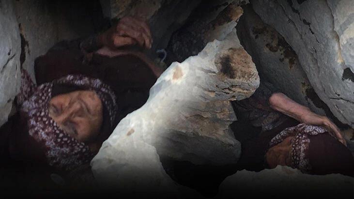 Feci son! Kayalıkların arasına sıkışan kadın hastanede hayatını kaybetti