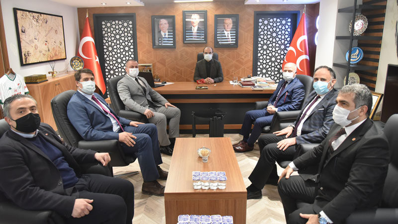 AK Parti Bursa'dan MHP'ye ziyaret