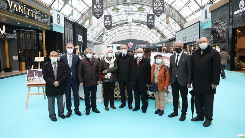 Başkanlardan MODEF'e ziyaret